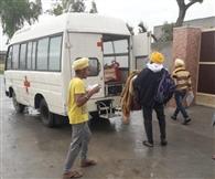 पाठी से मिले फिरोजपुर के पांच युवकों ने खुद को करवाया आइसोलेट