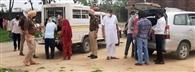 जरूरतमंद परिवारों के लिए घर -घर राशन पहुंचा रहा सब इंस्पेक्टर अमृतवीर सिंह