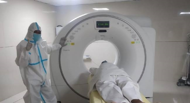33 Corona positive patients in 40char(39)    chr(39)   char(39)s CT scan -  Uttar Pradesh Jalaun Health News