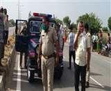 Lockdown 4: : गाजियाबाद से बेटी का शव ले जा रही मां की सड़क हादसे में मौत Aligarh News