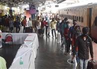 आठ ट्रेनों से पहुंचे 5806 प्रवासी
