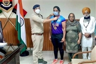 कांस्य पदक विजेता गुरशरनप्रीत कौर सम्मानित