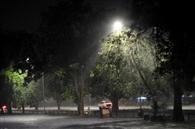 दिनभर चढ़ा गर्मी का पारा, रात को बारिश ने उतारा