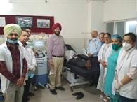 मेडिकल कॉलेज में प्लाजमा थेरेपी शुरू