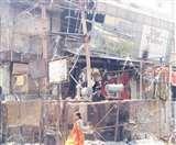 कैम्पवेल रोड पर तेज धमाके के साथ दो ट्रांसफार्मर फूंके, गर्मी से लोग बेहाल