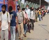 प्रवासियों ने कहा-गोरखपुर पहुंचकर भूल जा रहा सारा दुख-दर्द Gorakhpur News