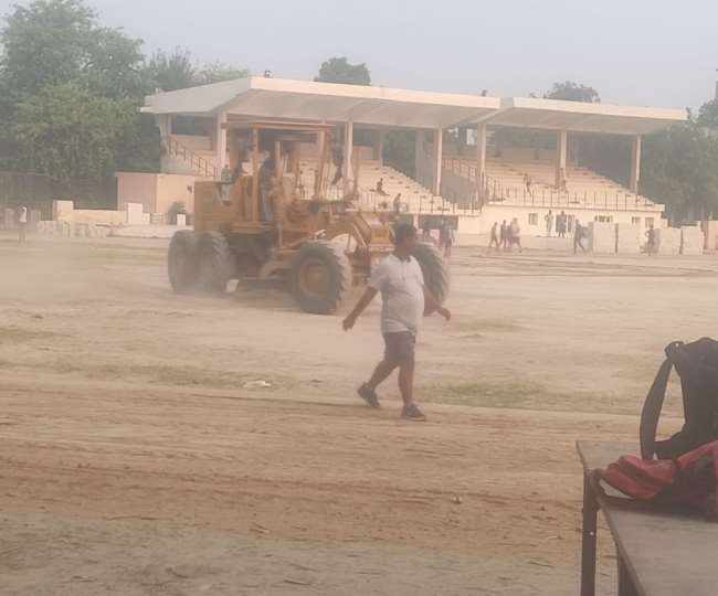 Good news about Shivaji Stadium in Panipat now players will not have to  face dust