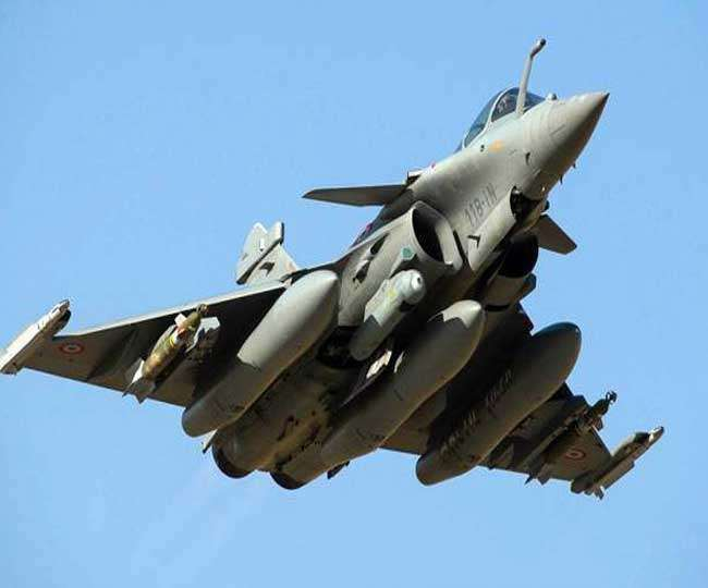 Rafale Fighter Jets: All Five Rafales have landed safely at Al ...