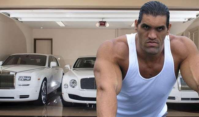 The Great Khali Car Collection: 7 फुट 1 इंच के खली के लिए मॉडिफाई की जाती