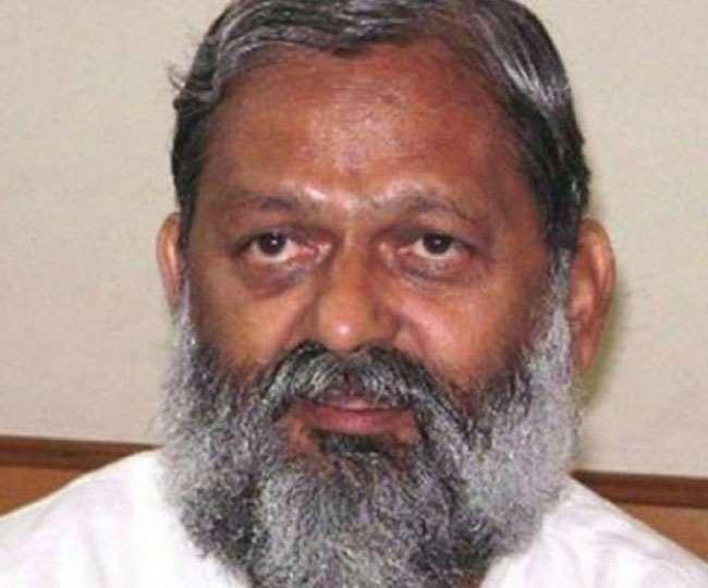 हरियाणा के गृह मंत्री अनिल विज की फाइल फोटो।