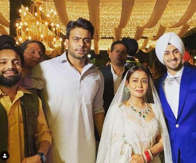Neha Kakkar Rohanpreet Singh Grand Wedding Reception In Punjabi