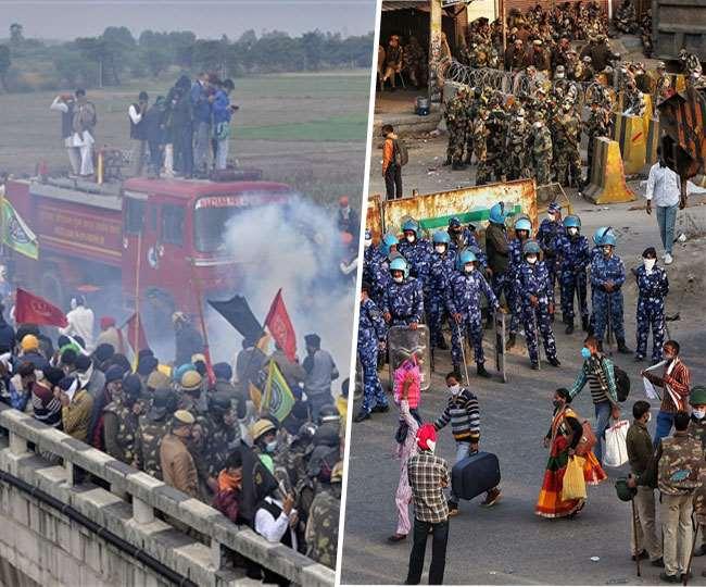 Punjab Farmers Protest Delhi Chalo March public being ...