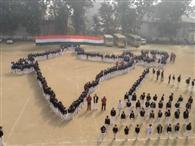 शिक्षण संस्थाओं में गणतंत्र की धूम, बच्चों ने गीत नृत्य से मन मोहा