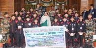 नागालैंड के छात्रों ने की राज्यपाल से मुलाकात