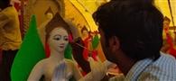 मां शारदे की प्रतिमाओं को अंतिम रूप दे रहे मूर्तिकार