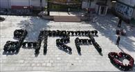 ग्रीनलैंड पब्लिक स्कूल में गणतंत्र दिवस मनाया