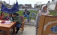एनएसएस शिविर में छात्राओं ने जाना सफाई का महत्व