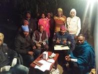 फलेरिया जांच के लिए 510 लोगों का लिया गया ब्लड सैंपल