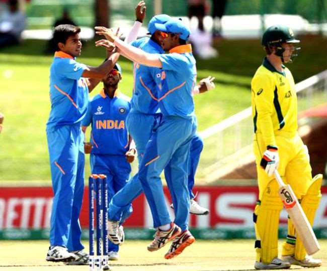 Image result for भारत ने ऑस्ट्रेलिया को 74 रनों से हरा सेमीफाइनल में बनाई जगह