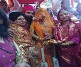 भाजपा के राष्ट्रीय अध्यक्ष जेपी नड्डा के घर में वधु प्रवेश, दोपहर बाद होगी मिलनी