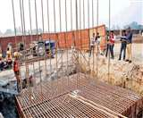 रैपिड रेल : परतापुर तिराहे पर तैयार हो रहे रैपिड पिलर Meerut News