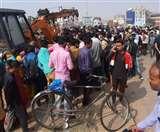 बिहार में हादसों का शुक्रवार: क्रेन व ट्रक से कुचलकर दो महिलाओं की मौत, सात घायल