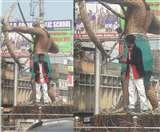 Video : तिलकामांझी चौक पर सिरफिरे का कट्टा लेकर हंगामा, सिटी डीएसपी पर चलाई गोली
