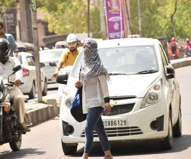 भारतीय मौसम विभाग ने जताई मौसम को लेकर संभावना। (फोटो: दैनिक जागरण)