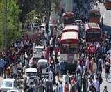 Coronavirus Lockdown Day 4: दिल्ली से अपने घर लौट रहे लोगों के लिए यूपी रोड वेज ने किया बसों का इंतजाम