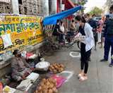 West Bengal Coronavirus News Update: सांसद नुसरत जहां ने सड़कों पर उतर कर लोगों को सोशल डिस्टेंसिंग के लिए किया जागरूक