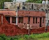 आंधी-बारिश में ध्वस्त हो गई लखीसराय जेल की कमजाेर दीवार, भागलपुर जेल शिफ्ट किए जा रहे कैदी
