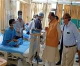 SGPGI की इमरजेंसी में बेडों की संख्या को दोगुने करें, मरीजों को दी जाए सही जानकारी : चिकित्सा शिक्षा मंत्री
