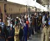 फिर भटकी श्रमिक स्पेशल ट्रेन, जाना था प्रयागराज पहुंच गई लखनऊ
