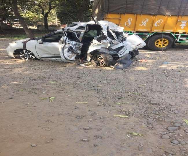 कुरुक्षेत्र में जीटी रोड पर दर्दनाक हादसे में दिल्ली के तीन युवकों की मौत।