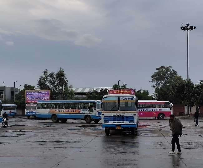 weather changes and cold increases in panipat due to rain