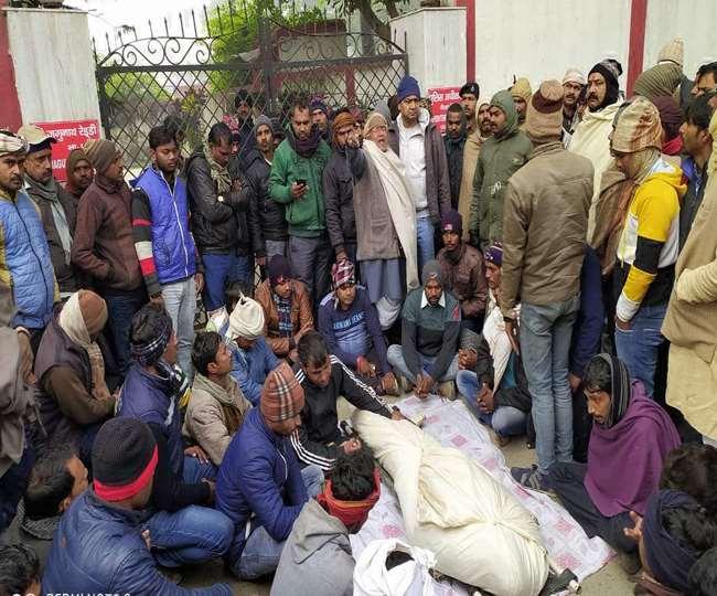 Image result for Congress leader Rakesh Yadav shot dead