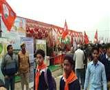 गंगा यात्रा के स्वागत को गजब का उत्साह, घाट पर स्वागत को उमड़े लोग Agra News