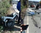 मंडी-पठानकोट एनएच पर परौर में स्कूटी सवार को ट्रक ने रौंदा, क्षत-विक्षत हुआ शव Kangra News