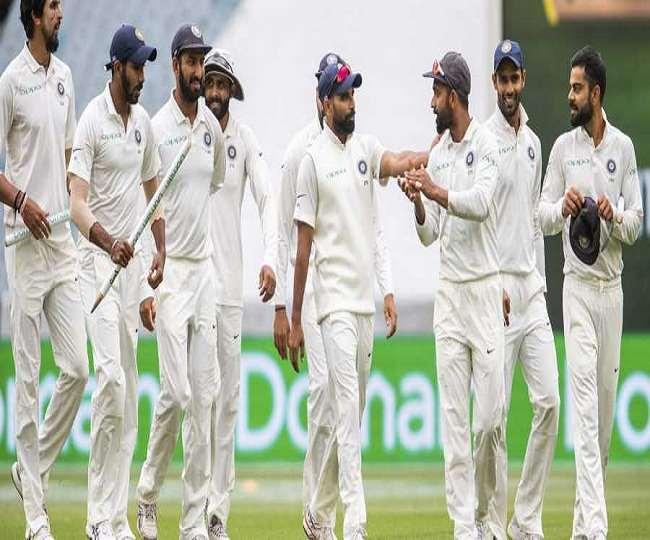 भारतीय टेस्ट टीम के खिलाड़ी (एपी फोटो)