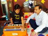 Jalandhar Under Curfew: पढ़ाई के बाद थकान उतारने के लिए बच्चे सीख रहे संगीत