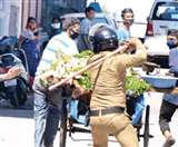 लॉकडाउन का उल्लंघन करने पर पुलिस ने पांच लोगों को किया गिरफ्तार