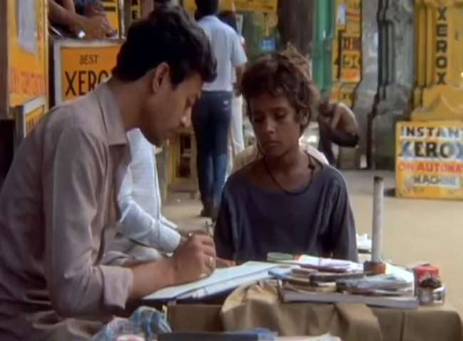 Irrfan Khan Passed Away his debut film was Salaam Bombay with mira ...