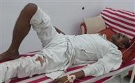 जमीन की रंजिश में पब्बीपुर प्रधान पर जानलेवा हमला