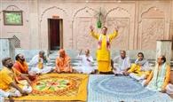 अब धर्मरक्षा संघ ने भी उठाई मंदिरों को खोलने की मांग