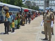कानपुर से श्रमिक स्पेशल को पहुंचने में लगे तीन घंटे