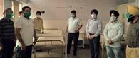 डीसी ऑफिस इम्प्लाइज एसोसिएशन ने सिविल अस्पताल को दिए 25 बेड