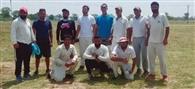 आर्यन क्लब ने तीन विकेट से मैच जीता