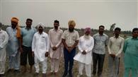 गांव के किसानों ने 75 प्रतिशत क्षेत्र में धान की सीधी बिजाई का लिया फैसला