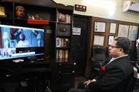 सीएम कैप्टन अमरिंदर के साथ ऑनलाइन मीटिग की