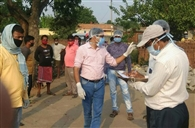 श्यामडीह में कोरोना संक्रमित मिला, चिकित्सा टीम गांव पहुंची, तीन लोगों को जांच के लिए भेजा पीएमसीएच